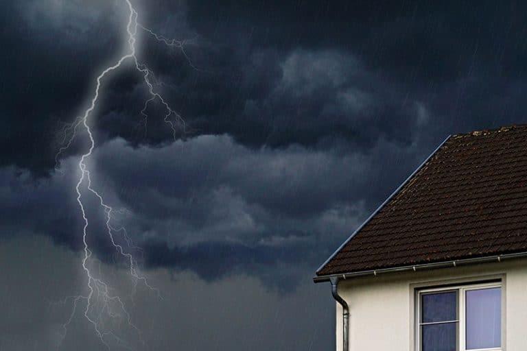 Lightning strike home insurance